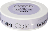 CatchDry Licorice Mini White Portion