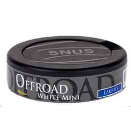 Offroad mini licorice white