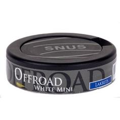 Offroad mini lakrits white