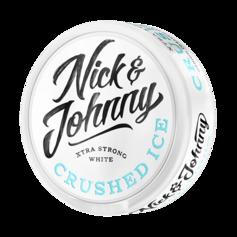 Nick & Johnny crushed ice white
