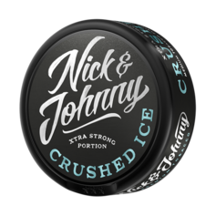 Nick & Johnny crushed ice